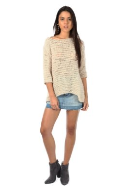Tricot Natural Off White