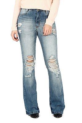 Calça Jeans Flare Cancun