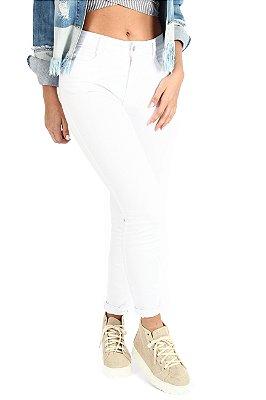 Calça Skinny New White