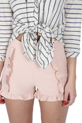 Shorts Alfaiate Flora