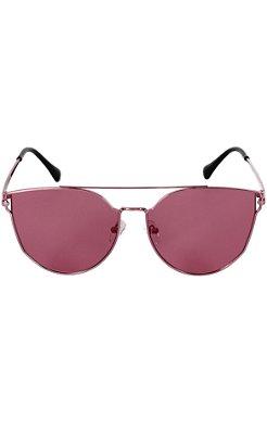 Óculos Lente Clara Pink