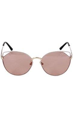 Óculos Lente Clara Arredondado