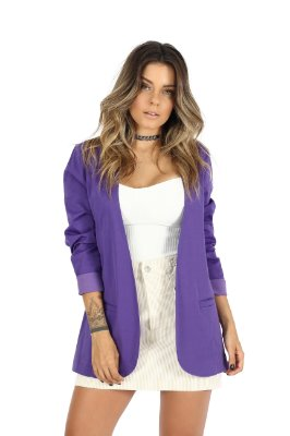 Maxi Blazer Original MM Roxo