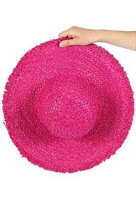 Chapéu Palha Pink