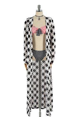 Kimono Longo Xadrez