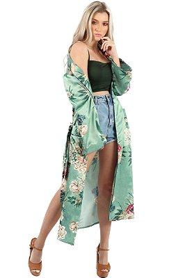 Maxi Kimono Menta