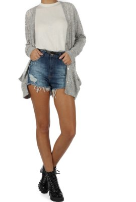 Shorts Hot Pant Double Denim