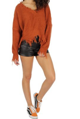 Shorts Couro Glam