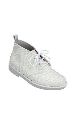 Melissa Desert Boot Python Branco