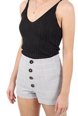 Shorts Victoria Cinza