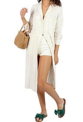 Camisa Strippe Linen