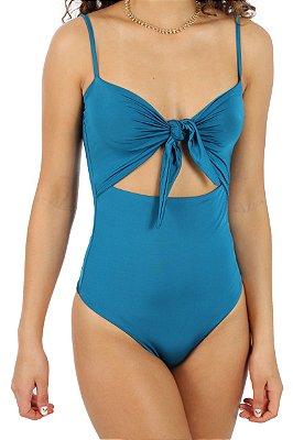Body Maiô Nó Azul