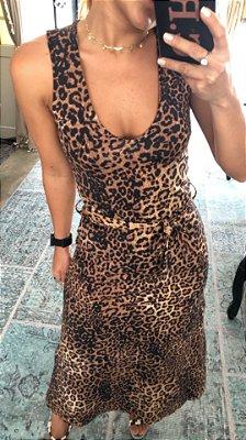 Vestido Sisi Onça
