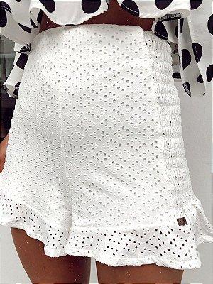 Shorts Lalá Branco