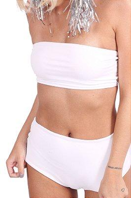 Hot Pant Carnaval Branco