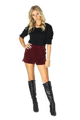 Shorts Polly Vinho