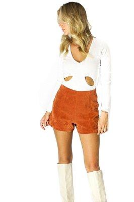 Shorts Polly Ocre