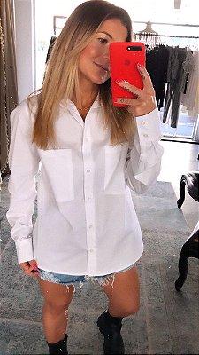Camisa Tricoline Maxi