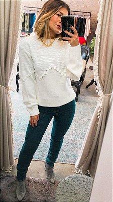 Calça Jeans Super Skinny MM
