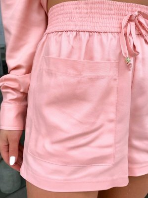 Shorts Vogue Rosa