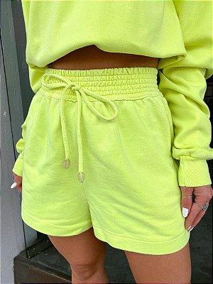 Shorts Moletom Stone Lima