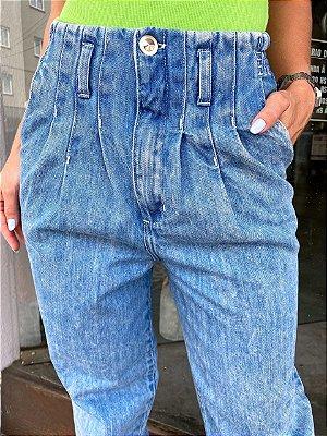 Calça jeans Paper bag