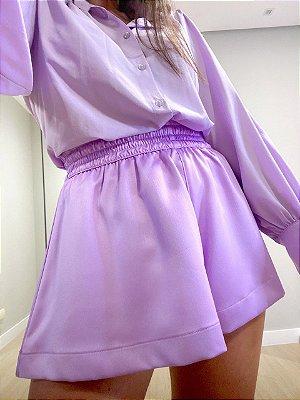 Shorts Agata Lilac