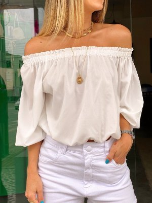 Blusa Grazi Off White