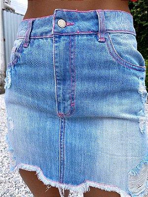 Saia Lua Jeans