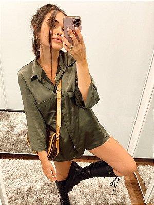Camisa Bruna Verde