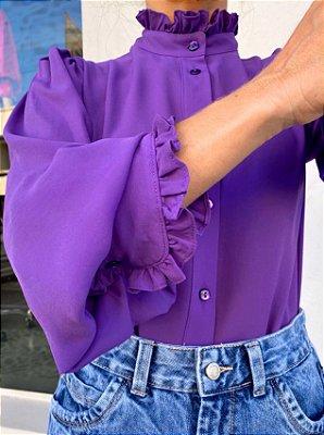 Camisa Antônia Violeta