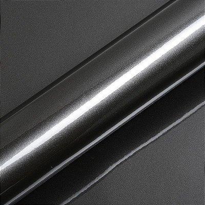 "Adesivo para Envelopamento Automotivo Alto Brilho Cor ""Gris Anthracite"" Kit Carro Completo"
