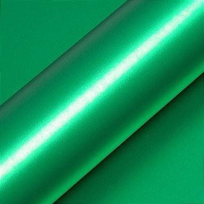 """Adesivo para Envelopamento Automotivo Fosco Metálico Cor """"Vert Boston Mat"""" Carro Completo"""