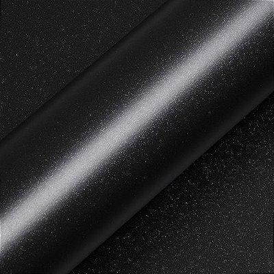 """Adesivo para Envelopamento Automotivo Fosco Glitter Cor """"Noir Ebène Pailleté Mat"""" Carro Completo"""