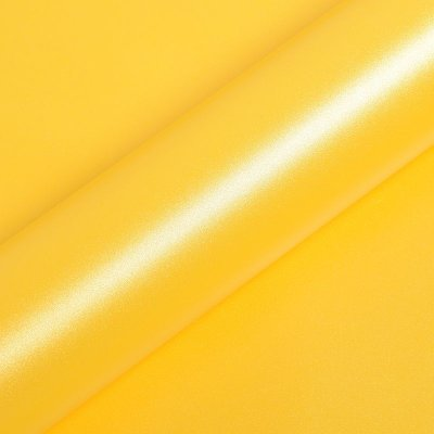 "Adesivo para Envelopamento Automotivo Fosco Cor ""Jaune Dehli Mat"" Carro Completo"