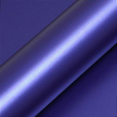 """Adesivo para Envelopamento Automotivo Fosco Cor """"Bleu Néon Mat"""" Carro Completo"""