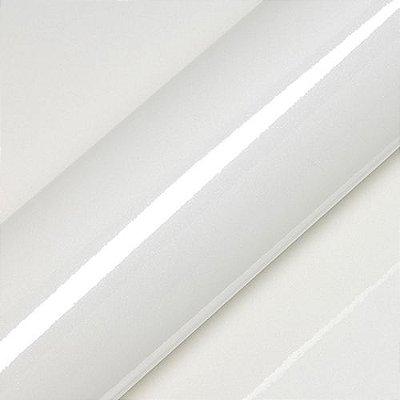 "Adesivo para Envelopamento Automotivo Alto Brilho Cor ""Blanc Lapon Pailleté"" Kit Carro Completo"