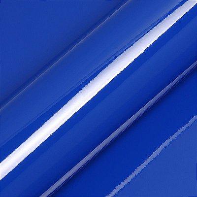 "Adesivo para Envelopamento Automotivo Alto Brilho Cor ""Vivid Blue Gloss"" Carro Completo"