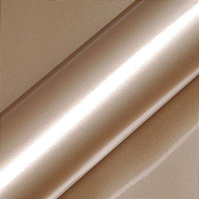 """Adesivo para Envelopamento Automotivo Alto Brilho Metálico Cor """"Ashen Beige Matallic Gloss"""" Carro Completo"""