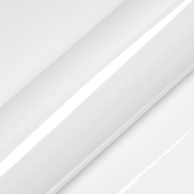 """Adesivo para Envelopamento Automotivo Alto Brilho Cor """"Lapland White Gloss"""" Carro Completo"""