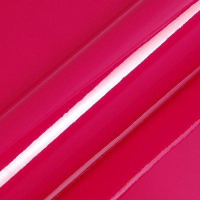 "Adesivo para Envelopamento Automotivo Alto Brilho Cor ""Fuchsia Gloss"" Carro Completo"