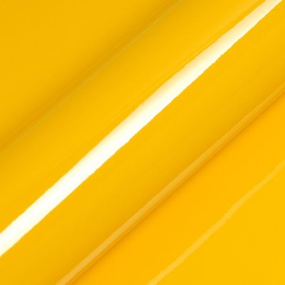"Adesivo para Envelopamento Automotivo Alto Brilho Cor ""Daffodil Yellow Gloss"" Carro Completo"