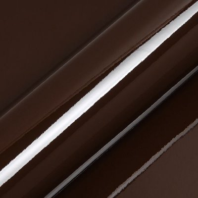 "Adesivo para Envelopamento Automotivo Alto Brilho Cor ""Brown Gloss"" Kit Carro Completo"
