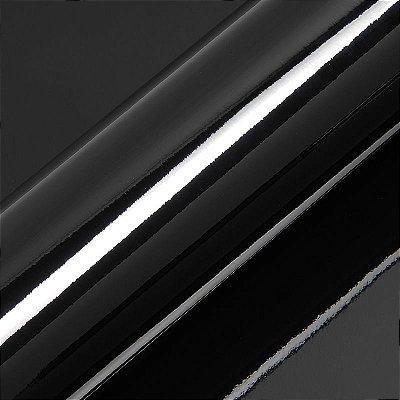 "Adesivo para Envelopamento Automotivo Alto Brilho Cor ""Charcoal Black Gloss"" Carro Completo"
