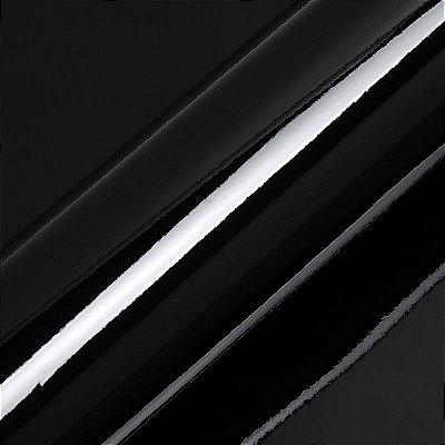 "Adesivo para Envelopamento Automotivo Alto Brilho Cor ""Deep Black Gloss"" Carro Completo"
