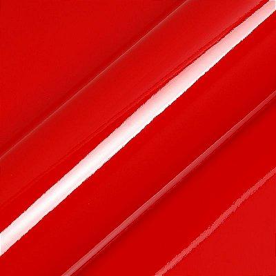 "Adesivo para Envelopamento Automotivo Alto Brilho Cor ""Tomato Red Gloss"" Carro Completo"