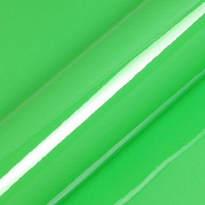 "Adesivo para Envelopamento Automotivo Alto Brilho Cor ""Kiwi Green Gloss"" Carro Completo"