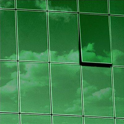 """Película para Vidro Comercial Espelhada de Alta Redução de Calor """"Specchio Green Silver"""""""