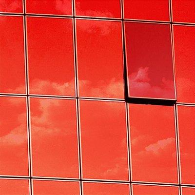 """Película para Vidro Comercial Espelhada de Alta Redução de Calor """"Specchio Red Silver"""""""