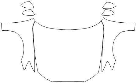 """Película ClearShield de Proteção de Pintura Transparente Super Brilho """"Kit Capô Inteiro/Paralama/Retrovisores"""" Audi RS6 Avant Ano 2011/2018"""